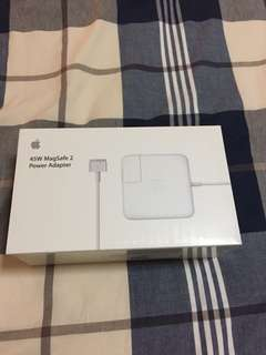 Original Apple 45W MagSafe 2 Power Adapter