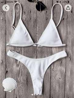 Zaful Textured Bikini