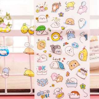 🌟BN INSTOCKS Adorable Seal Stickers Pack