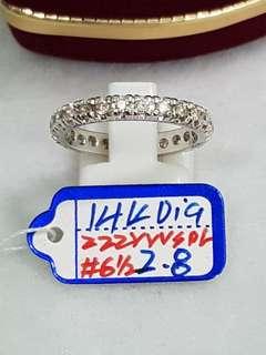 14k w/ diamonds