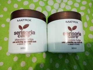 Matrix Sensoria Care Chocolate Fudge Creambath