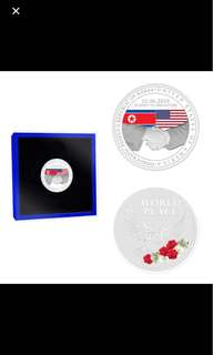 US NORTH KOREA Summit Coin