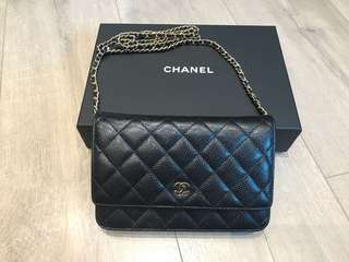 Chanel WOC Wallet on Chain A33814