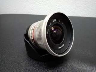 Samyang 12mm F2.0 Sony E-mount Silver