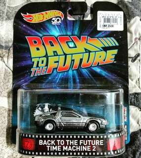 HW back to the future time machines 2