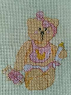 Baby bear crosssticth