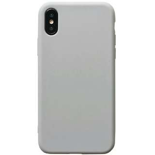 冷淡簡約風 灰色iPhone case