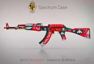 CSGO AK-47 Bloodsport