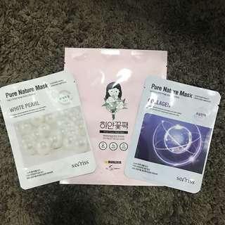 Korean Face Masks Bundle