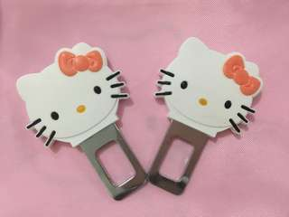 Hello Kitty Safety Belt Buckle