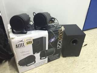 ALTEC LANSING Computer/Mobile Speaker with Subwoofer 電腦喇叭