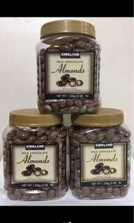 Kirkland chocolate almonds