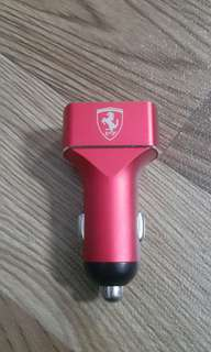 CG MOBILE Ferrari Limited Edition USB 3-Ports Car Fast Charger