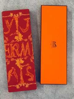 Vintage Hermes Box (Tie / Scarf)