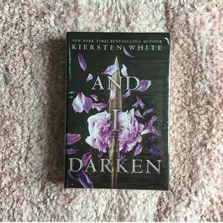 And I Darken – Kiersten White