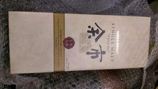 日本威士忌 余市12年 nikka yoichi whiskey (靚盒,全新)