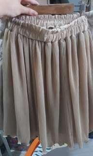 Flowy Corduroy Skirt