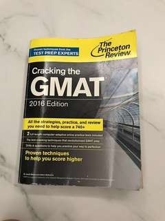 Cracking the GMAT 2016 Edition