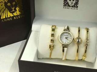 Ann Klein watch for women (Set)