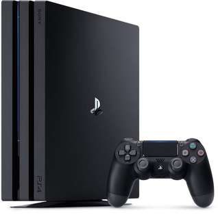 PS4 PRO 1TB W/ GAMES