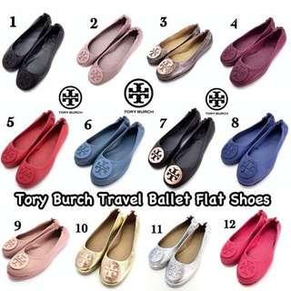 Tory Burch Travel Ballet Flat Shoes