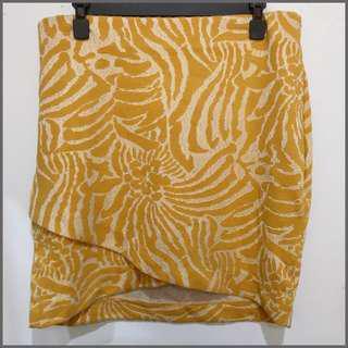 H&M Yellow Skirt