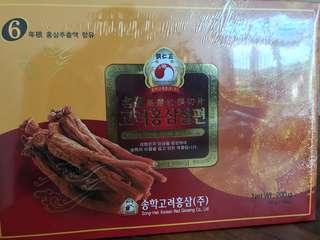 韓國高麗蔘含片