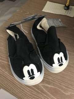 全新 Disney Mickey Mouse baby bv shoes 米奇老鼠鞋