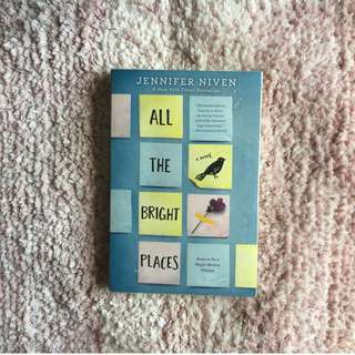 All the Bright Places – Jennifer Niven