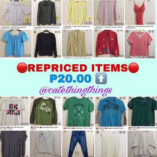 Come and check out our repriced items!