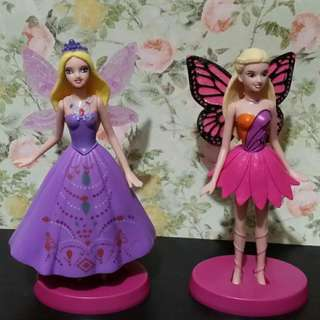 Two Toy Fairies (could also be used as cake toppers), both for P100.00