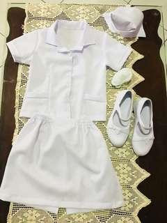 Nurse career kids costume