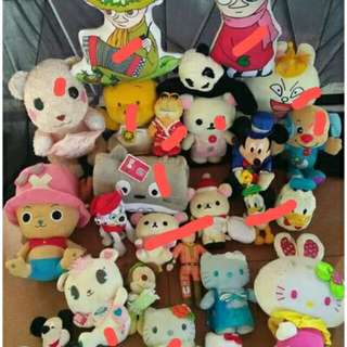 Japan stuffed toys individual sale