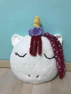 🚚 Crochet Unicorn cushion