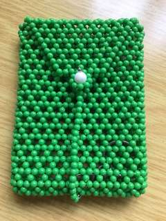 🚚 Beaded Key pouch large