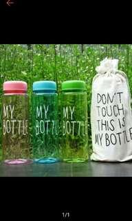 Botol minum plus sarung (BARU)