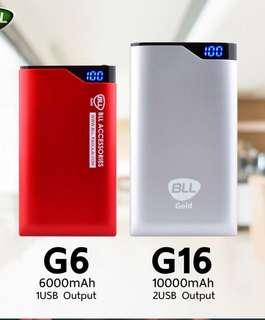 Portable Powerbank, 6000 mAh, (Ultra slim, Lightweight)