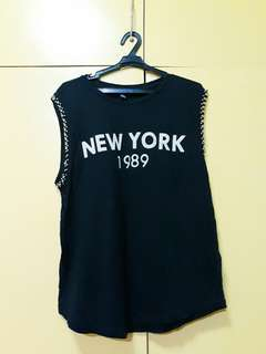 Forever 21 New York Sleeveless Top