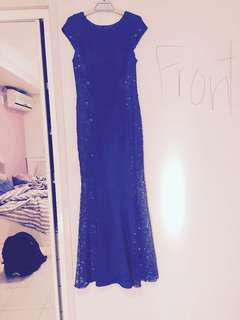 blue dress negotiable price!! need gone ASAP