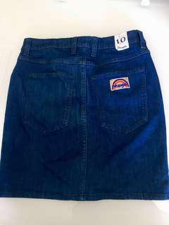 Wrangler hi mini skirt