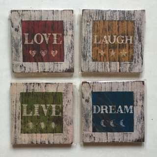 wall decor shabby