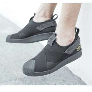 adidas superstar slip on 100% original