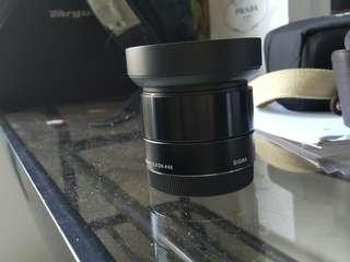 Sigma 19 mm for sony nex