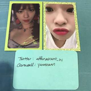 Twice Jeongyeon Summer Nights DTNA Official Photocards