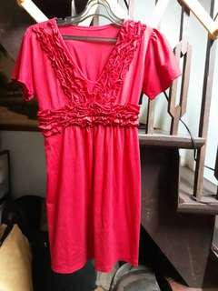 RED DRESS  Large to XL