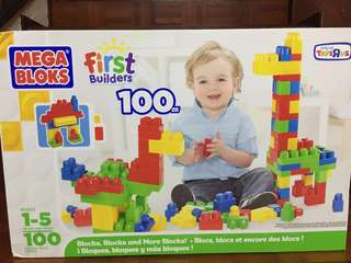 Mega Blocks First Builders - 100 pcs