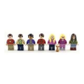 Lego Bing Bang Theory Minifigure set