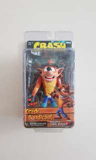 NECA Crash Bandicoot Figure