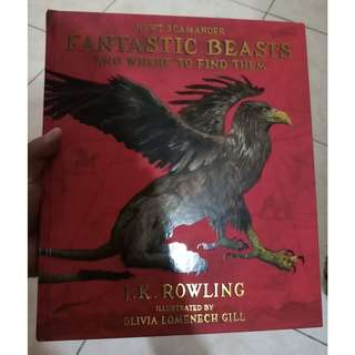 Fantastic Beasts Illustrated Edition