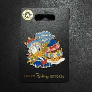 迪士尼襟章 唐老鴨生日 Donald Duck birthday 2018 (Tokyo Disney Pin Collection)